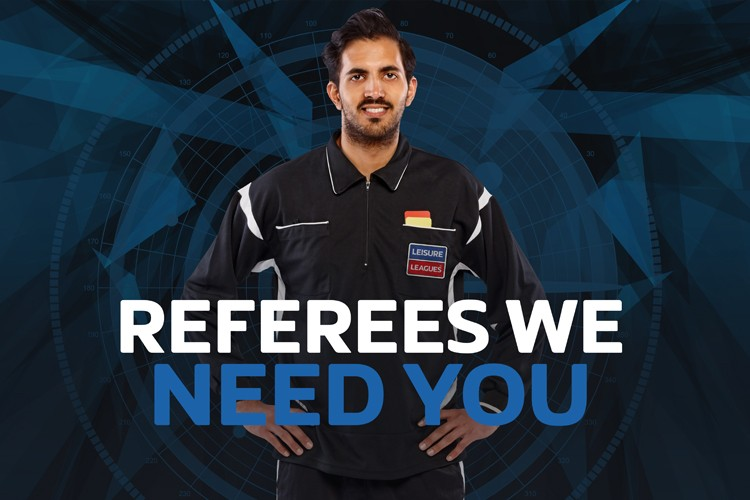 Referees we need you!