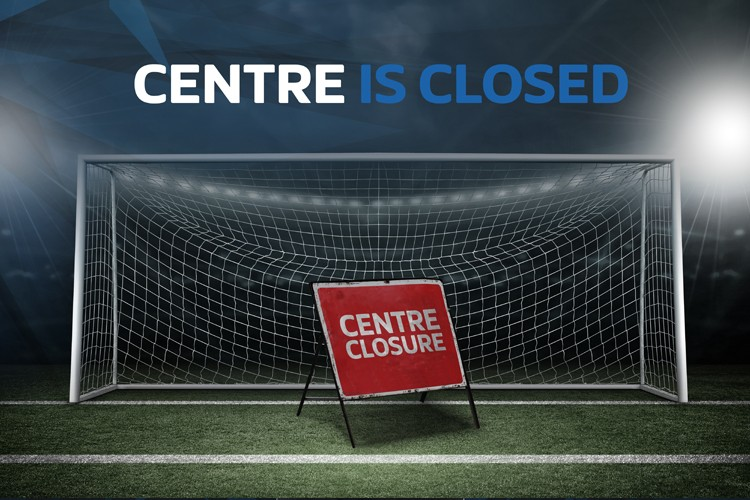 Centre closed for Bank Holiday