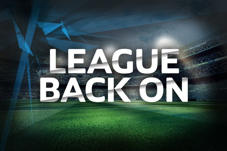 LEAGUE BACK ON AFTER BANK HOLIDAY
