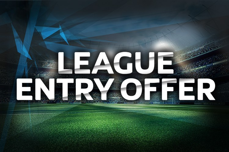 FREE ENTRY OFFER TO ANY NEW TEAMS LOOKING TO JOIN THE LEAGUE