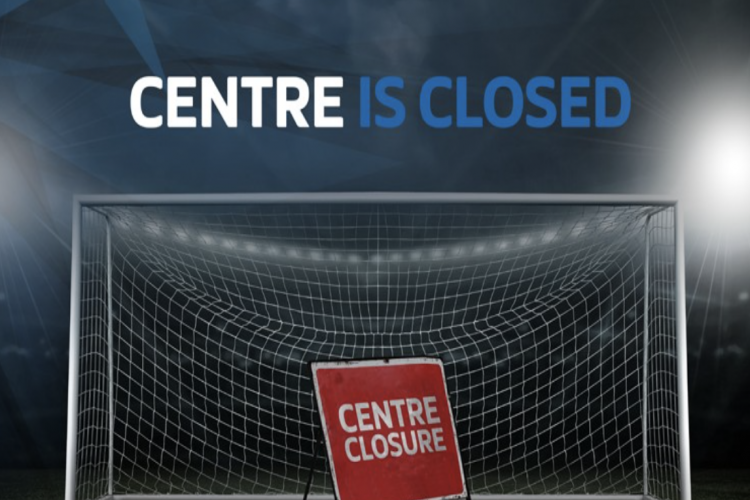 CENTER IS CLOSED - DUE TO BANK HOLIDAY