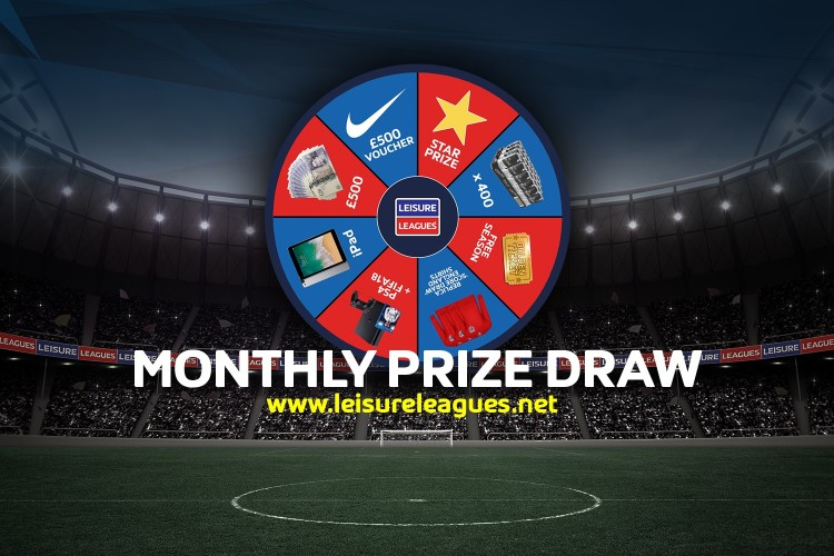 Win amazing prizes with Leisure Leagues Swindon