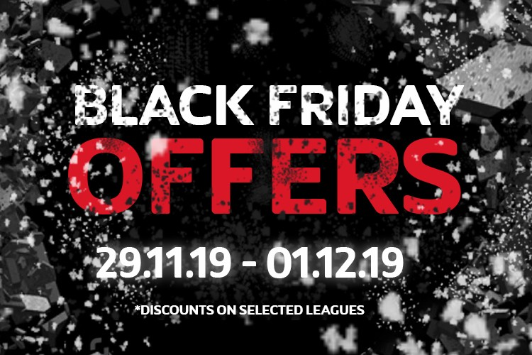 MANCHESTER MONDAY 6ASIDE LEAGUE BLACK FRIDAY OFFERS