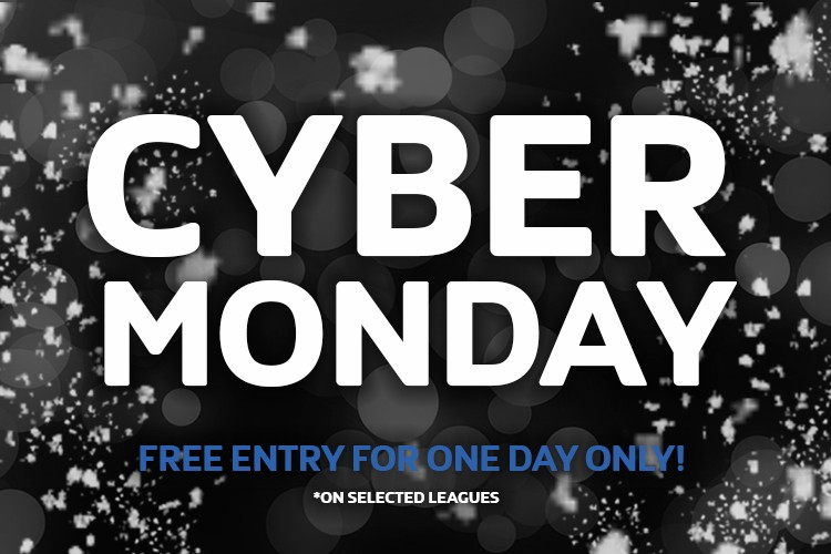 NEWMARKET 6 A SIDE MONDAY LEAGUE CYBER MONDAY OFFER!