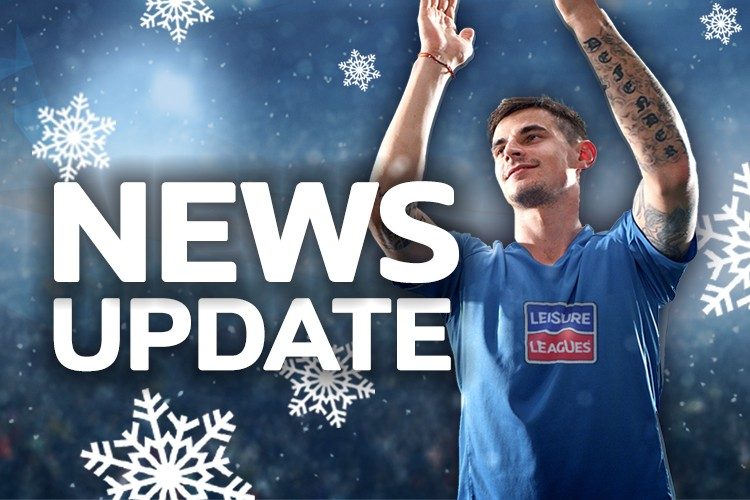 RUBERY THURSDAY LEAGUE NEWS 6ASIDE 12/12/19