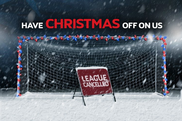 LEAGUE CANCELLED FOR CHRISTMAS