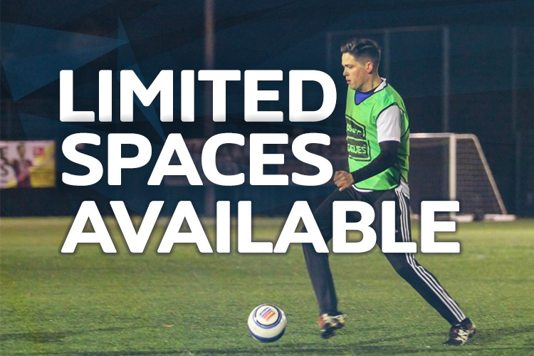 One space available - Abingdon Wednesday 5 a side