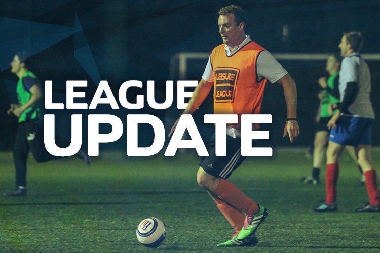 RUBERY THURSDAY LEAGUE NEWS UPDATE 30/1/20