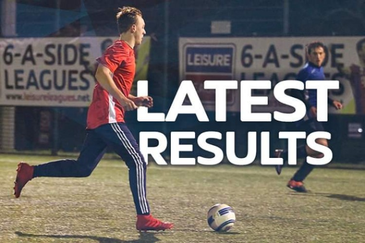 Leisure Leagues Colchester & Tiptree 6 A Side Weekly Results