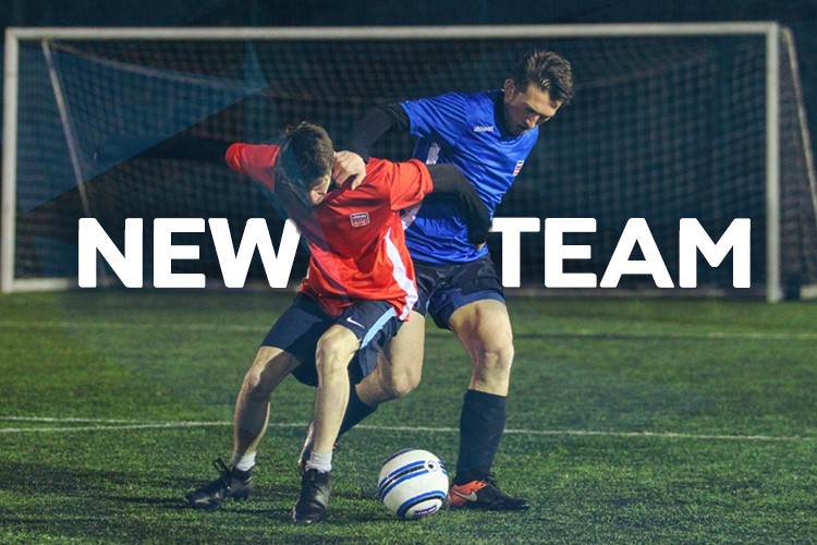 New team for Leisure Leagues six a side at Gerard Buxton