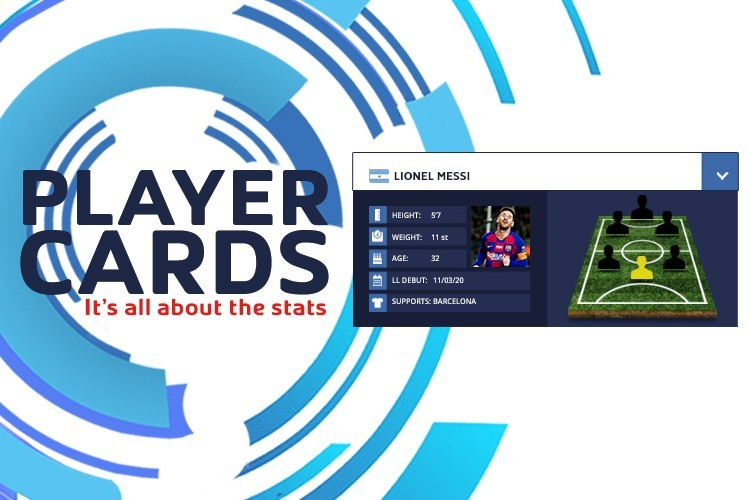 BRAND NEW LEISURE LEAGUES PLAYER CARD IS HERE!