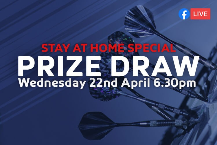LEISURE LEAGUES PRIZE DRAW LIVE WEDNESDAY 22ND APRIL 6:30PM
