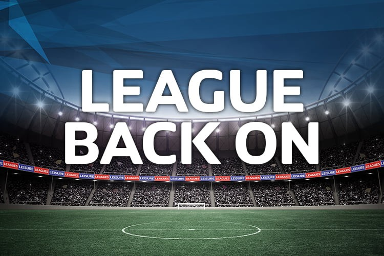 LEAGUE RESUMES ON THE 2nd DECEMBER!