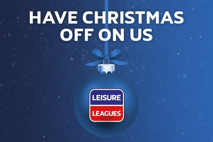 LEAGUE CANCELLED OVER CHRISTMAS!