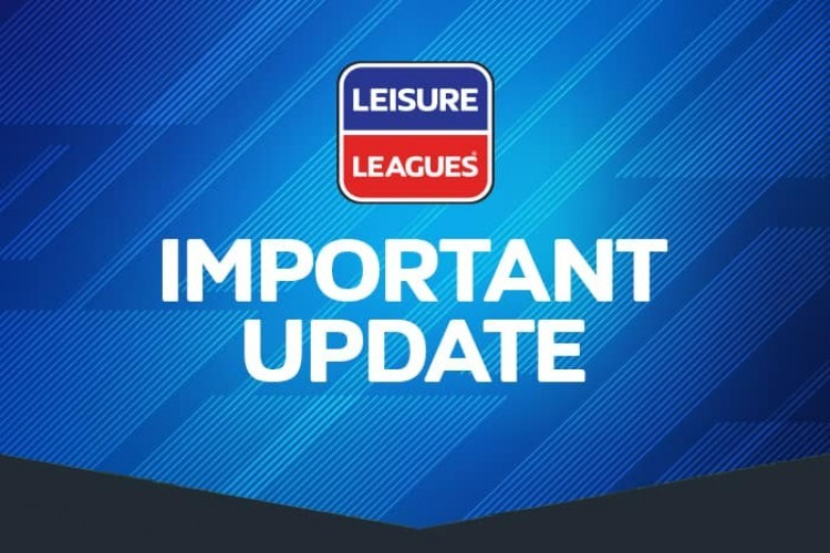 LEAGUE TEMPORARY CLOSED UNTIL FEBRUARY 2021