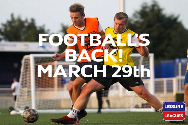 DARTFORD VALLEY MONDAY LEAGUE RESUMES ON 29TH MARCH 2021