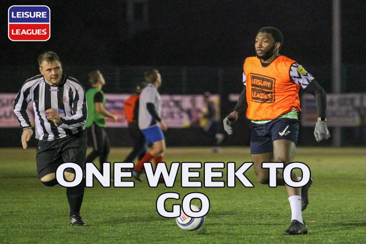 ONE WEEK TO GO - OLDHAM 6ASIDE