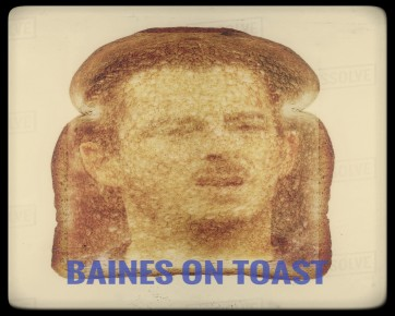 Baines on toast